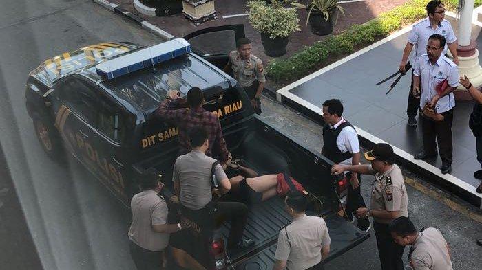 Video: Mapolda Riau Diserang Terduga Teroris